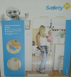 Satety 1st pressure fit safety baby pet stair doorway gate 73 - 81cm