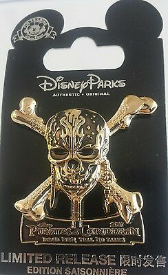 Disney Pirates Of The Caribbean 2017 Dead Men Tell No Tales Opening Day Pin