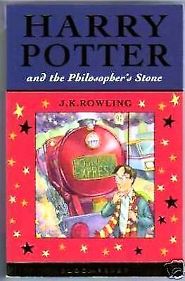 HARRY POTTER & PHILOSOPHERS STONE UK FIRST EDITION 1ST PRINT Bloomsbury.