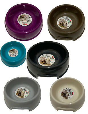 Cat Dog Pet Puppy Plastic Food Water Bowl Dish Non Slip Animal Dinner Pot