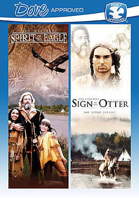 Spirit of the Eagle / Sign of the Otter (DVD, 2010, Dove Approved) *FREE Ship*