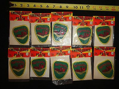 Lot of 10 Vintage NEBRASKA Embroidered Travel Patches US States NOS 3""