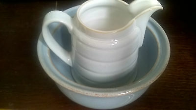SET Of Beautiful Jug and Bowl/Small Oven Dish by DENBY