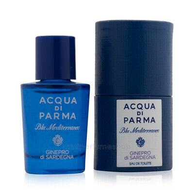 miniature perfume bottle Acqua di Parma Bergamotto Edt 5 ml.