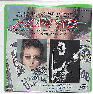 "John Lennon  "" Stand By Me "" Japan 7"" VINYL IN MINT CONDITION"