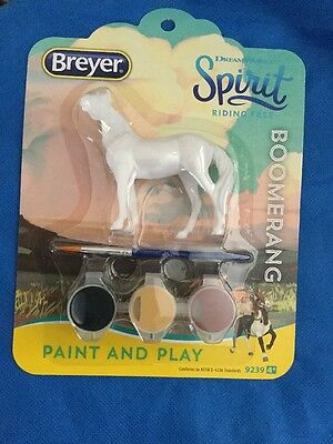 Breyer Collectible Dreamworks Spirit Paint And Play Boomerang