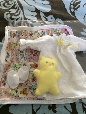 """Madeline 8"""" doll Eden/LearningCurve  SLEEPOVER NIGHTGOWN PAJAMAS Clothes SET"""