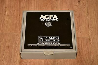 AGFA PEM 468 2 Inch Studio Master Analogue Tape 10.5 inch reel