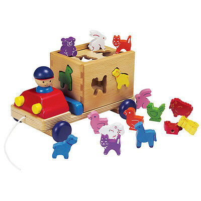 Animal Sorting Truck 20860 - Toddler Wooden Educational Toy