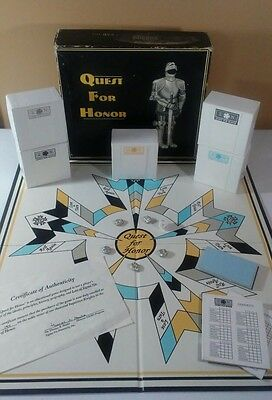 Sigma Nu Quest for Honor Fraternity College Trivia Board Game Signed **RARE