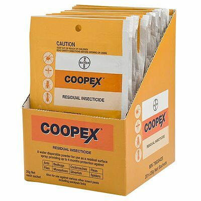 Coopex Residual Insecticide - Pest Management 25g