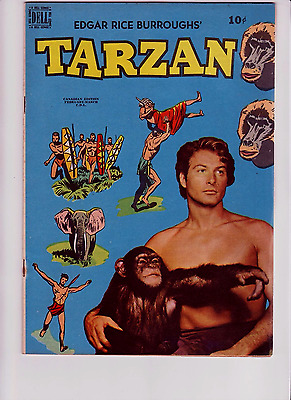 Tarzan 13 Canadian High Grade F/VF White pages