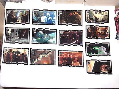 Star Wars 30th Anniversary TRIPTYCH PUZZLE PIECE INSERT 13 CARD LOT! A NEW HOPE!