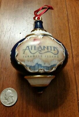 Atlantis Bahamas Heavy Ceramic Christmas Ornament