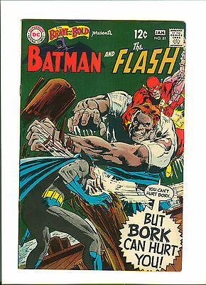The Brave and the Bold #81 (Dec 1968-Jan 1969, DC) FN/VF 7.0 * Neal Adams Art *