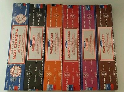 nag champa incence  6 packs 72 sticks. Mix or same kind
