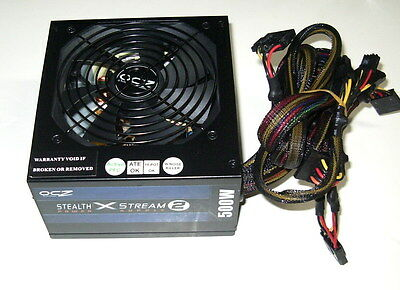 OCZ Stealth X Stream 2 OCZ500SXS2 500W ATX Desktop PC Power Supply