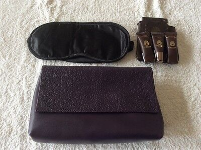 BRAND NEW Etihad Airways FIRST CLASS Airline Amenity Kit INCOMPLETE
