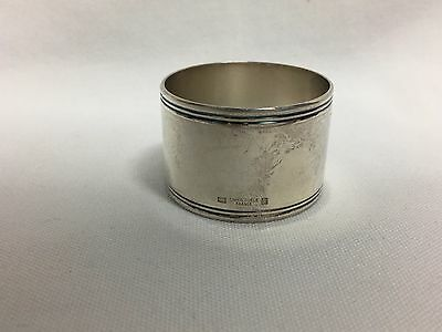 Christofle France Silver Plate Napkin Ring No Mono