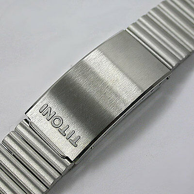 New ! 18Mm Titoni Stanless Steel Wrist Band Watch For Men High Quality