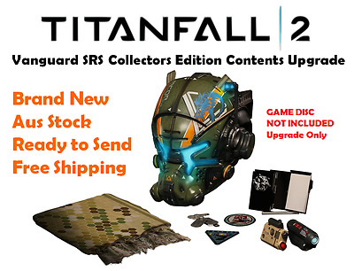 Titanfall 2 Vanguard SRS Collector's Edition Contents Upgrade PS4 Xbox One PC