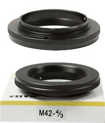 NEW Mount adapter For  M42  lens to Olympus OM 4/3  digital camera