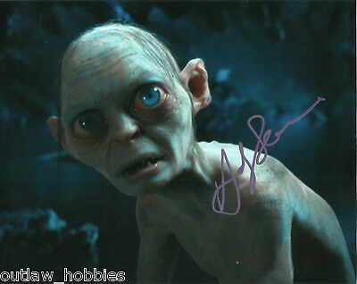 Andy Serkis Lord of the Rings Autographed Signed 8x10 Photo COA