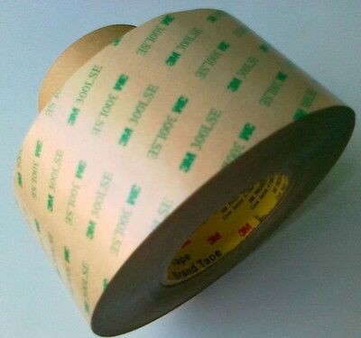 3M 9495le Double Sided VHB Tape, 300 LSE Adhesive - 2 Inches Wide, Transfer Tape