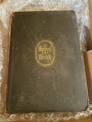 1870 Full Year -Harper's Weekly- Bound Magazine Thomas Nast,  Dickens - Drood