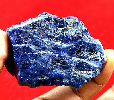 "420 Ct Ebay Top Color Natural Purple Blue Sodalite Rough  ""Nice Offer"""