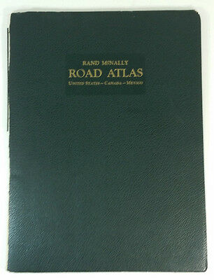 Vintage Rand McNally Road Atlas 1947 United States Canada Mexico