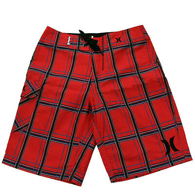 Hurley Youth Puerto Rico Boardshorts Red 24
