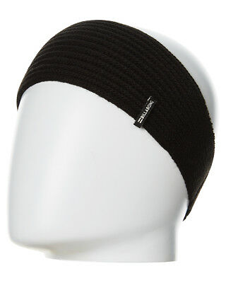 New Billabong Women's Must Have Beanie Band Acrylic Black