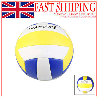 Sports Volleyball Size 5 Training Ball for Home Beach Kids Adult Fun as07