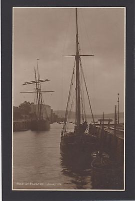 Postcard JUDGES No 7652  PADSTOW  BOATS IN HARBOUR