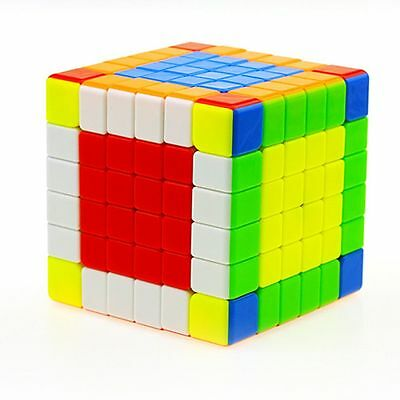 Super Brain Teaser 6x6 Stickerless Twisty Puzzle Competition Magic Cube