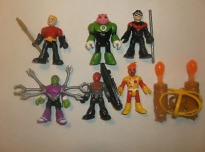 Imaginext DC Superfriends, Red Hood, Nightwing, Firestorm and others