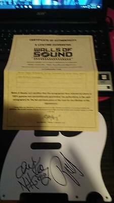 Skinny Puppy  Signed   Tele Pickguard In Mint Condition With Coa!!