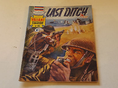 VALIANT PICTURE LIBRARY,NO 85,1966 ISSUE,V GOOD FOR AGE,51 yrs old,V RARE COMIC.