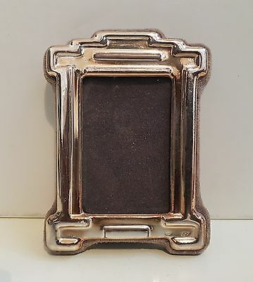 Vintage solid silver miniature picture frame HALLMARKED 925
