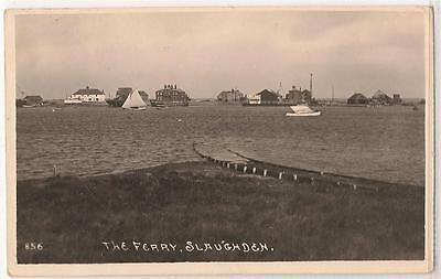 RP Postcard, (Bell's Photo 856) The Ferry, Slaughden - near Aldeburgh