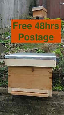 BS National, Commercial and 14x12 Beehive Assembled Roof with Galvanized Cover