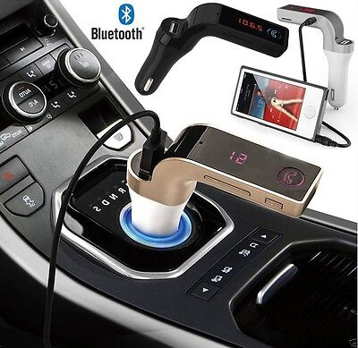 Wireless Bluetooth FM Transmitter Car MP3 Radio USB Charger f iPhone 5/6s/7 PLUS