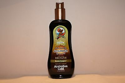 Australian Gold Dark Tanning Accelerator Spray Gel With Instant Bronzer 237Ml