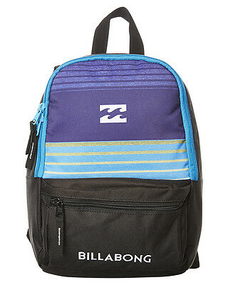 New Billabong Boys Kids Mini Atom Backpack Black