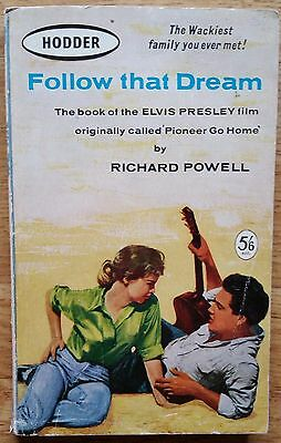 ♫ ELVIS PRESLEY rare book 'FOLLOW THAT DREAM' Richard Powell - lot 53 ♫