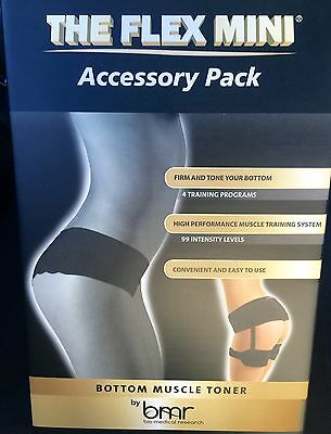 BMR Flex Mini Accessory Pack Bottom Butt Muscle Toner + Free Controller+ 4 Pads