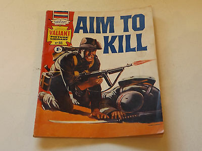 VALIANT PICTURE LIBRARY,NO 93,1967 ISSUE,GOOD FOR AGE,50 yrs old,V RARE COMIC.