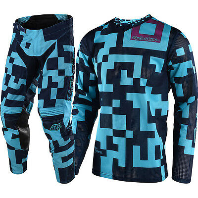 NEW Troy Lee Designs 2018 Mx GP Air Maze Turquoise Navy TLD Motocross Gear Set