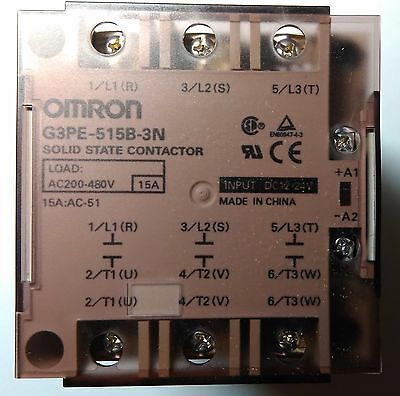 New Original Omron G3PE-515B-3N DC12-24 Solid State Relay for heater control